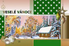 vanoce_vanocni_prani Advent, Merry Christmas, Painting, Merry Little Christmas, Painting Art, Wish You Merry Christmas, Paintings, Painted Canvas, Drawings