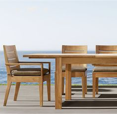 $4795 80/120 x 40  Belvedere Extension Dining Table