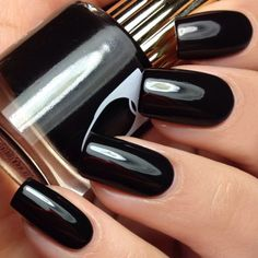Floss Gloss Black Holy Nail Polish | Live Love Polish