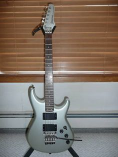Ibanez Roadstar II RG525 guitar manufactured in Japan in May 1986. My favourite, this old gal' is a beauty of great quality, playability and sound. Priceless. Btw: mine is pitch black...