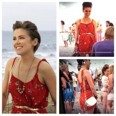 What dress is this?? 90210: Season 3 Episode 10 Best lei'd plans.  Erin Silvers dress.