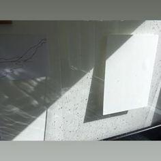 Soaked paper waiting in the sun. Monoprint Artists, Printmaking, Devon, Waiting, Sun, Paper, Instagram, Printing, Prints