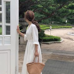 2019 Casual Fashion Trends For Women - Fashion Trends Casual Party Dresses, Casual Dresses For Women, Casual Outfits, Casual Fashion Trends, Long Shirt Dress, Belted Dress, Minimalist Art, Korean Women, Ankle Length