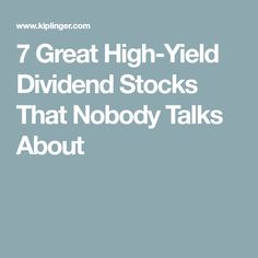 If you're seeking out high-yield dividend stocks, think small. These lesser-known names can be a little more volatile but make up for it with substantial income of Retirement Strategies, Retirement Advice, Financial Peace, Financial Success, Value Stocks, Dividend Investing, Stock Portfolio, Dividend Stocks, Investment Portfolio
