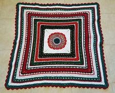 red grey black white crochet blanket afghan - Google Search