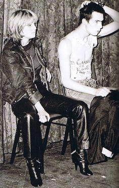 Viv Albertine & Sid Vicious