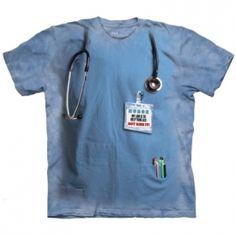 Nurses Job Felnőtt Amerikai The Mountain Póló