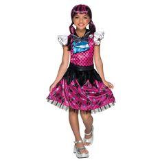 Girls' Monster High Draculaura Child Costume Large, Girl's, Multicolored