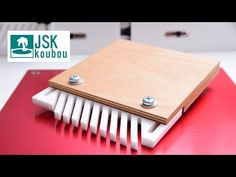 How to make a feather board from a $3 cutting board - YouTube Woodworking Jigs, Woodworking Projects, Diy Shops, Homemade Tools, Circular Saw, Table Saw, Plastic Cutting Board, Wood Projects, Feather