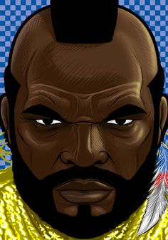 Mr T by Thuddleston.deviantart.com on @deviantART