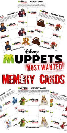 """Free printable Muppets BINGO game   """"Popular Pins ..."""