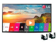 "Smart TV LG LED 49"" 49LH5600 Full HD Wi-Fi 2 HDMI 1 USB  Suporte de Parede << R$ 208999 >>"
