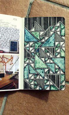 Sketchbook pages, sketchbook ideas, sketchbooks, visual diary, art journal Moleskine Sketchbook, Sketchbook Pages, Sketchbook Ideas, Fashion Sketchbook, Kunstjournal Inspiration, Sketchbook Inspiration, Journal D'art, Art Journals, Bullet Journal