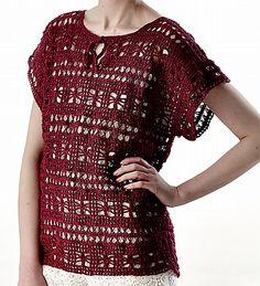 Tribe by Lisa Richardson - free Rowan crochet pattern.