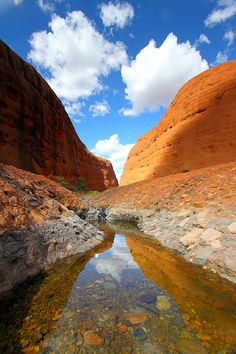 Kata Tjuta,Australia...walked there at dawn,,no one else there....magical...