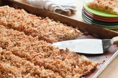 Apple Crostata with Breadcrumb Streusel | Herbivoracious