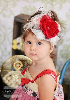 Little Starlet Flower Headband 34.99  Perfect match for #Matilda Jane #headbands  #girls hair accessory