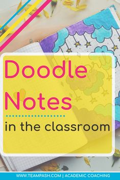 Is your child or student struggling with note taking? What if there was a better way? This article breaks down doodle notes and how to bring them into study time. Note Taking Strategies, Note Taking Tips, School Schedule, School Planner, School Tips, In High School, High School Students, Teaching Secondary, Middle School Classroom