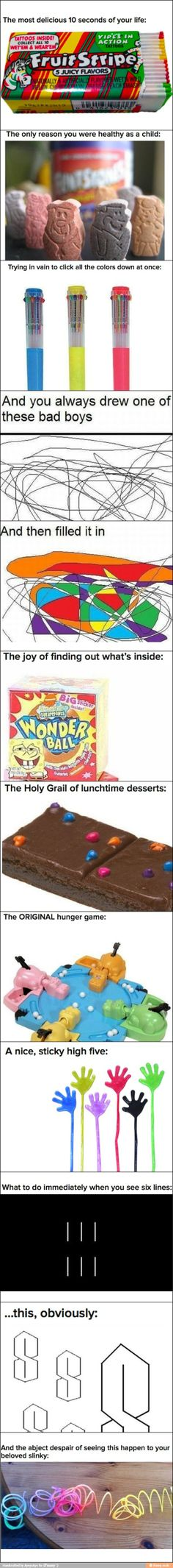 You know you had a great childhood when... -The original hunger games! Lol!!-