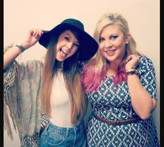 my two fave British youtubes Zoella and Sprinkle of Glitter :) both fantastic woman