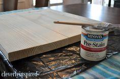 DIY Wood Countertop...I LOVE LOVE LOVE this!!!