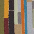 This hand-felted, hand-sewn rug from Stephanie Odegard is made from 100% recycled strips of wool, with a style inspired by traditional ar...