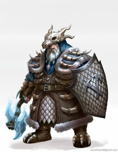 Tundra dwarf by ArtDeepMind on DeviantArt Dungeons And Dragons Characters, D&d Dungeons And Dragons, Dnd Characters, Fantasy Characters, Fantasy Character Design, Character Inspiration, Character Art, Character Ideas, Character Concept