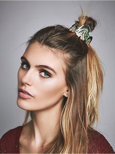 Free People Art Deco Bun Pin, $24.00
