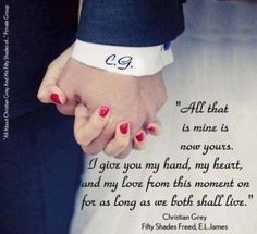 For as long as we both shall live.. .
