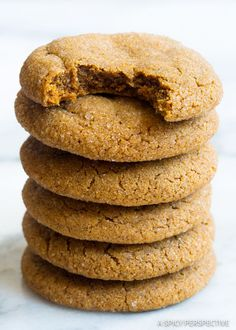 Soft Chewy Molasses Cookies Recipe - A tender gingersnap cookie recipe, perfect for holiday cookie platters! A cookie exchange offering everyone will love!