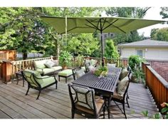 Imagine BBQs or morning coffee on this private deck | Clayton MO
