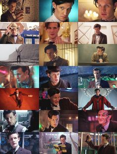Screen caps from each episode from the end of series 6 and all of series 7