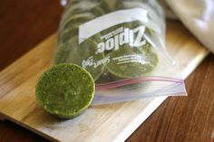 Well Vegan   Green Smoothie Cubes  #vegan #smoothie