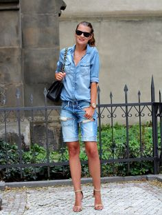 Double denim | CzechChicks