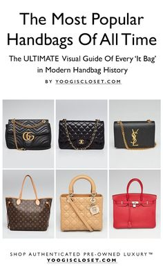c928dde9f6d From Louis Vuitton to Chanel to Yves Saint Laurent, we count down the most  iconic