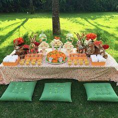 Muitos picnics lindos de Páscoa! Esse da @cactusdecoracao #acervobyellaarts #ellaarts #picnic #pascoa🐇❤️ #Padgram