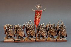 The Internet's largest gallery of painted miniatures, with a large repository of how-to articles on miniature painting Warhammer Aos, Warhammer Fantasy, Warhammer 40000, Warhammer Tabletop, Dungeons And Dragons Miniatures, Chaos Theory, Fantasy Figures, Fantasy Battle, Warhammer 40k Miniatures