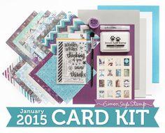 Simon Says Card kits!