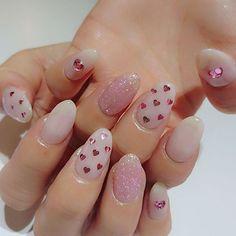 #prettyinpink cute cute pretty pink nails