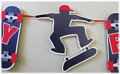 Happy Birthday - Skateboard Banner Just for You by Kinga