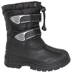 YOUTH Water Resistant Two Strap Boot with Toggle Pull >>> Read more at the image link. (This is an affiliate link) #Outdoor