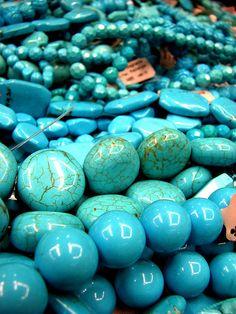 Perles en Turquoise