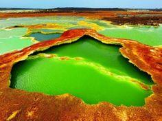 17 espetaculares paisagens que parecem uma fotomontagem, mas não são...
