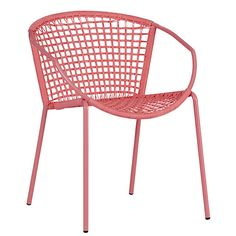 Sophia Hot Pink Dining Chair: Gardenista