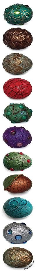 Love these!! Dragon eggs! At http://www.faeriemag.com/collections/dragons