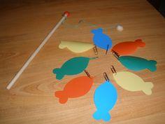 CaramELLE et Marabout: jeu dans le bain : la pêche à la ligne