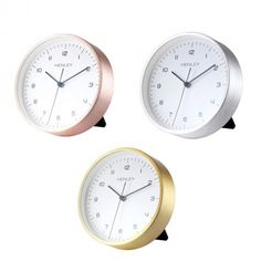 New Henley Table Desk Metal Clock now available at exclusive prices!!  http://www.dkwholesale.com/catalog/product/view/id/12680/s/henley-table-desk-silent-sweep-movement-brushed-metal-clock-hcm001/