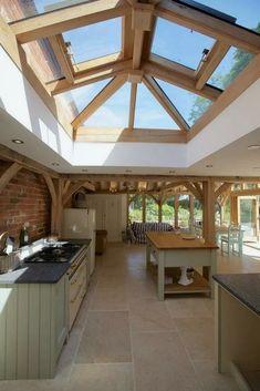 32 Stunning Farmhouse Kitchen Design Ideas To Bring Modern Look # Farmhouse Kitchen Decor, Cottage Kitchens, Country Kitchen, New Kitchen, Home Kitchens, Kitchen Ideas, Cozy Kitchen, Kitchen Designs, Bungalow Kitchen