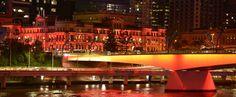 Brisbane lighting up Orange for Fragile X Awareness Day in Australia