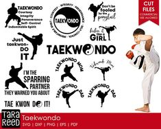 taekwondo / taekwondo svg / taekwondo svg bundle / svg for cricut / svg files / svg for silhouette / commercial use allowed